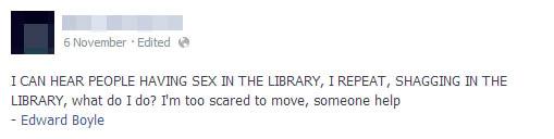 library shag 1