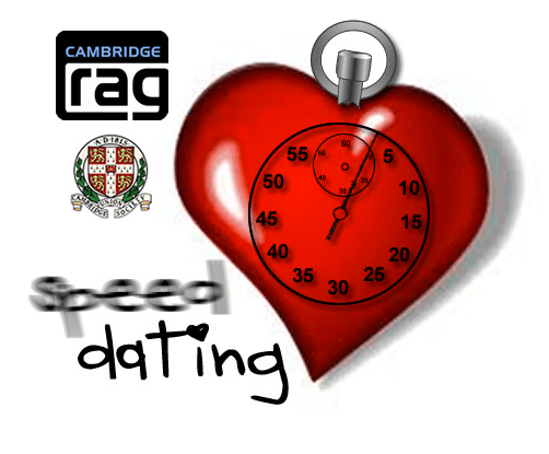 rag speed dating cambridge Rag speed dating - while many species have indexed categorized games.