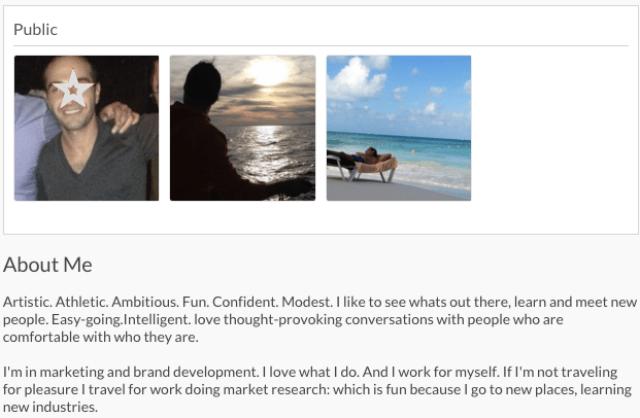 seeking arrangement profile About five months ago, mila created a profile on seekingarrangementcom seeking-arrangement makes sure its users know that what the site facilitates is.