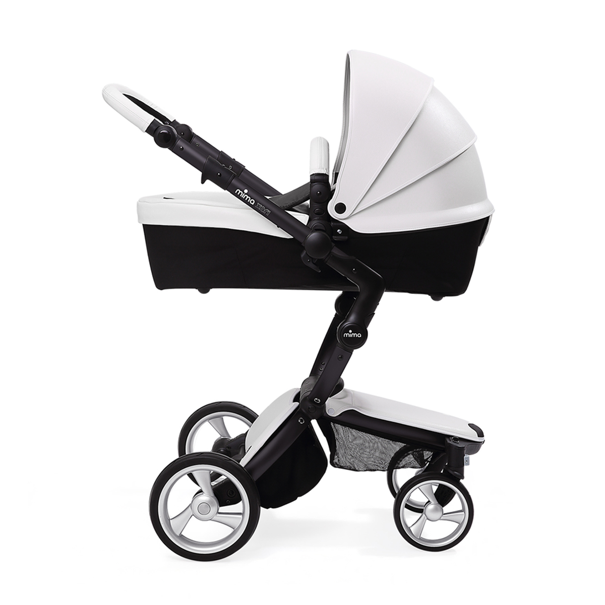 Mima Xari Seat Box 2 Snow-white Mima Xari Stroller Snow White And Black
