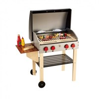 Hape Gourmet Grill with Food - TheTot