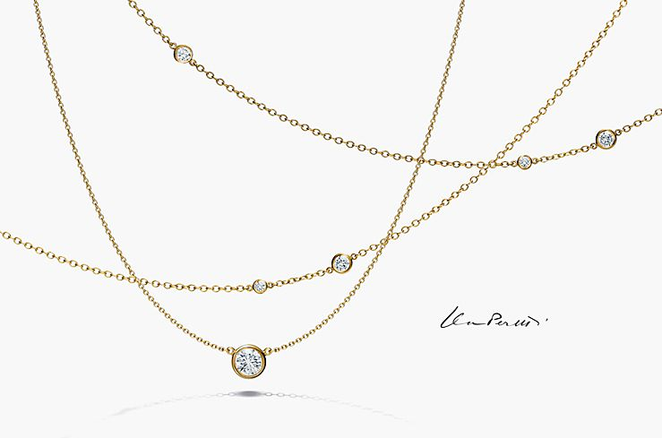 Elsa Perettir Diamonds By The Yardr Collection Tiffany Co