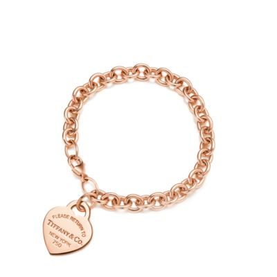 Rose Gold Armband Return To Tiffany Heart Tag Bracelet