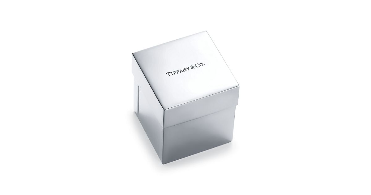 Shop Everyday Objects Sterling Silver Tiffany Box