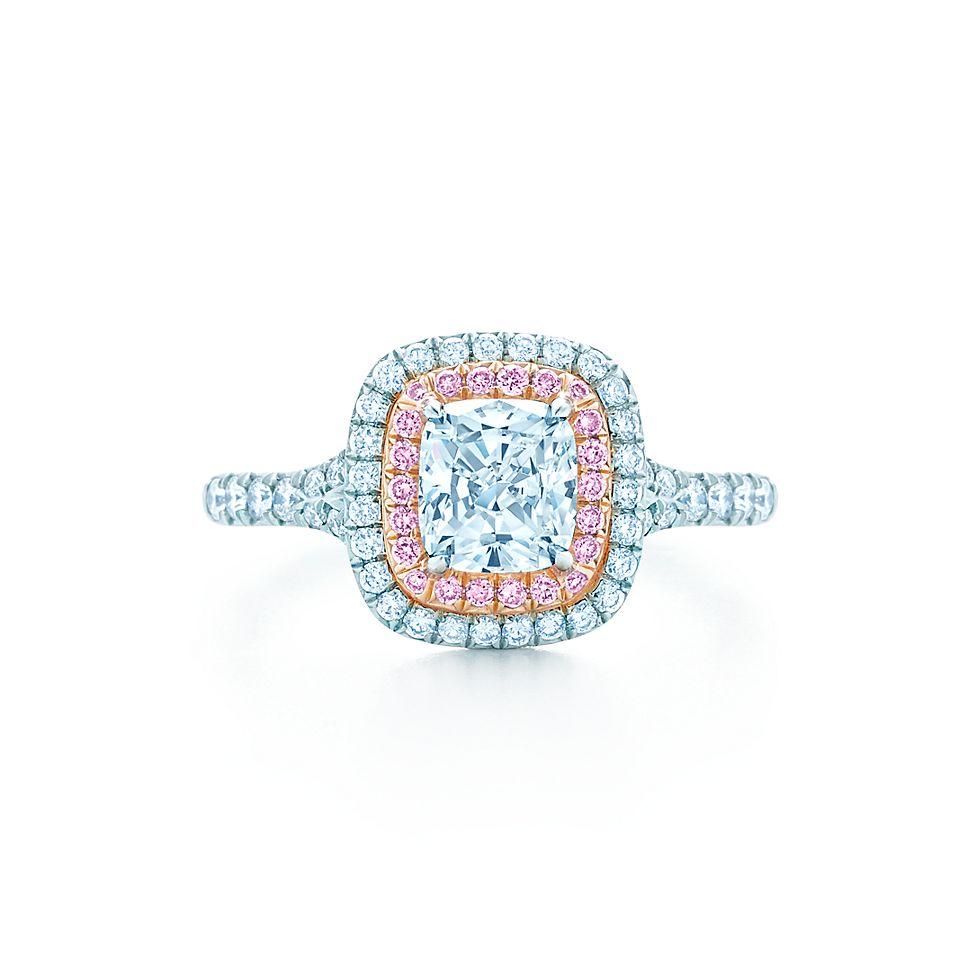 Tiffany Solester Cushion Engagement Rings Tiffany Co