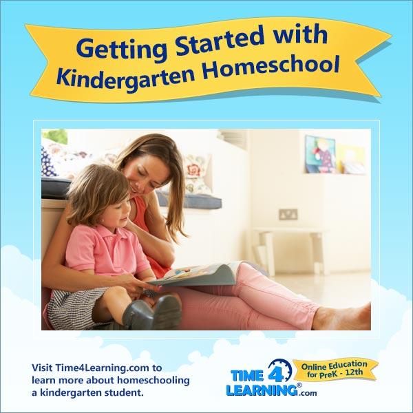 Homeschooling Kindergarten Time4Learning