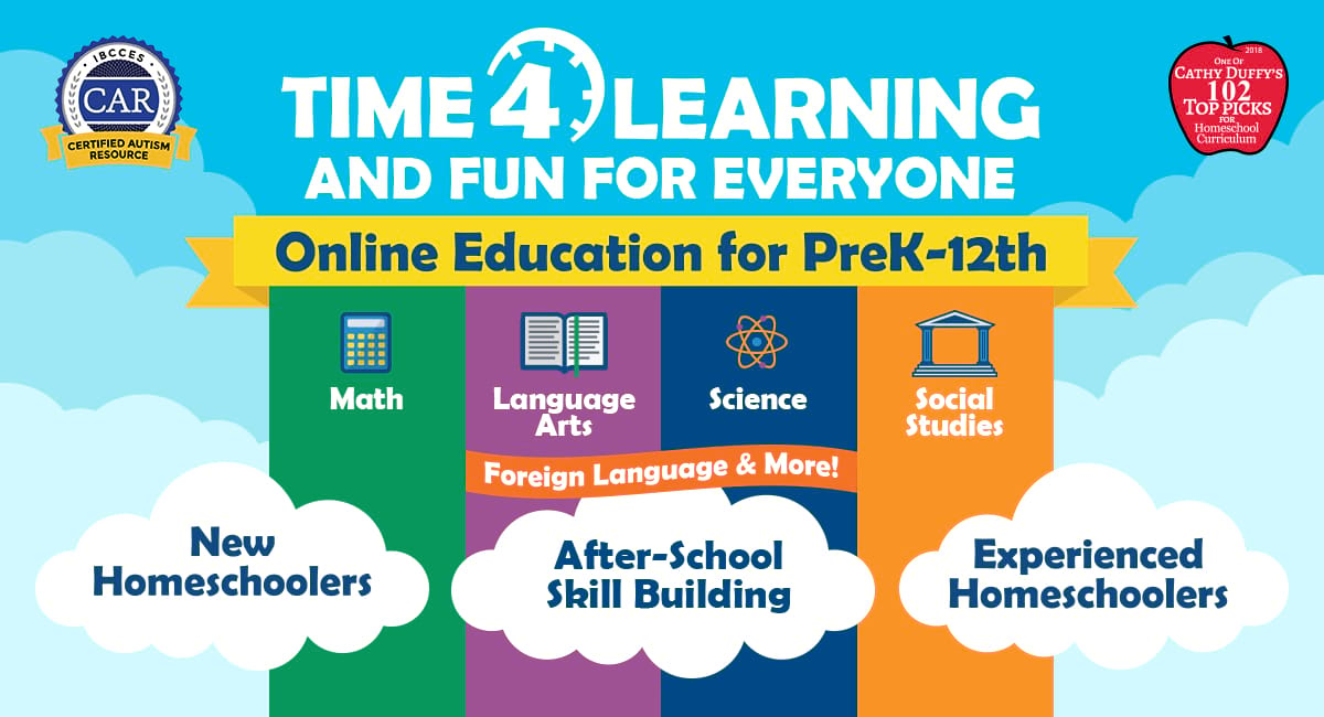 Time4Learning Online Curriculum For PreK-12th Grade