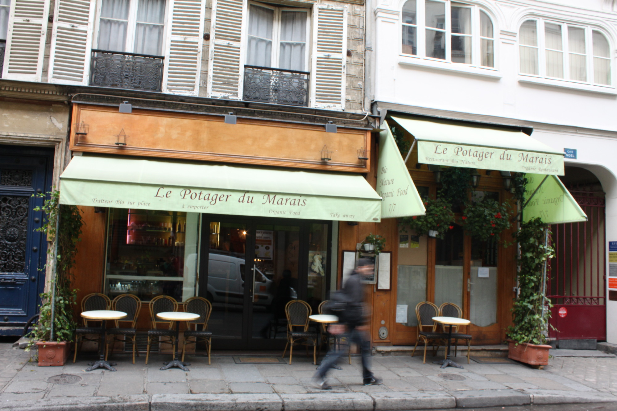 Terrasse Resto Paris Vegetarian Gluten Free And Vegan Dining Restaurants And