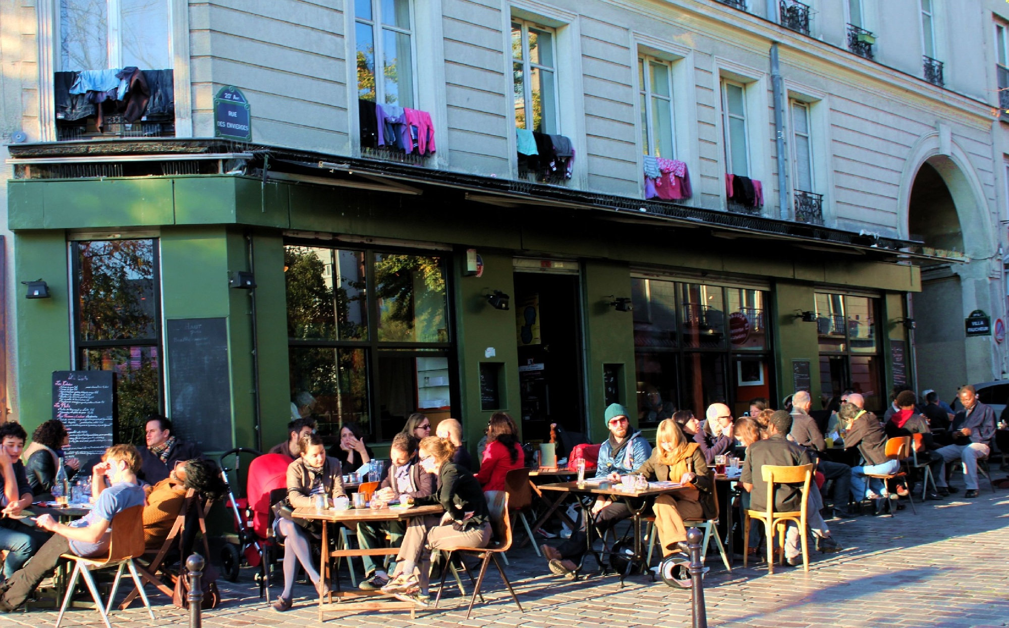 Terrasse Café Les Bars Alternatifs Time Out Paris