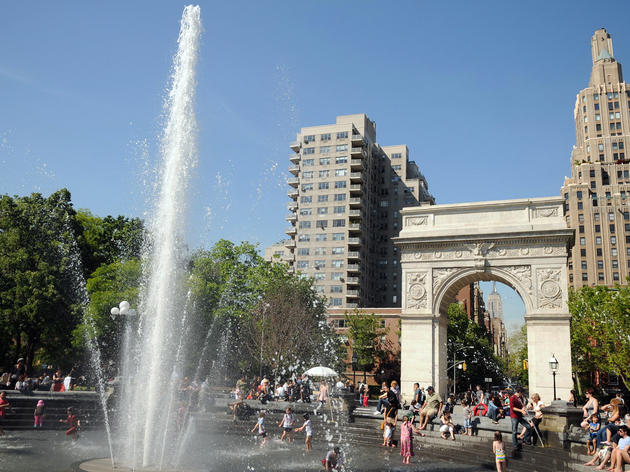 Washington Square Park Attractions In Greenwich Village
