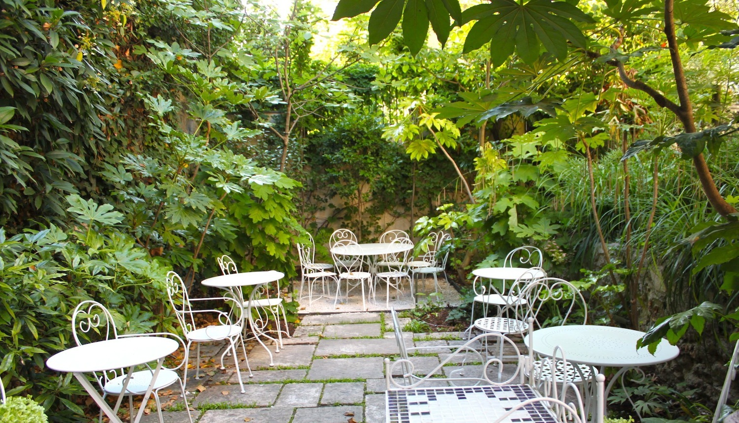 Restaurant Canal Saint Martin Terrasse The Best Bars With Gardens In Paris | Music & Nightlife