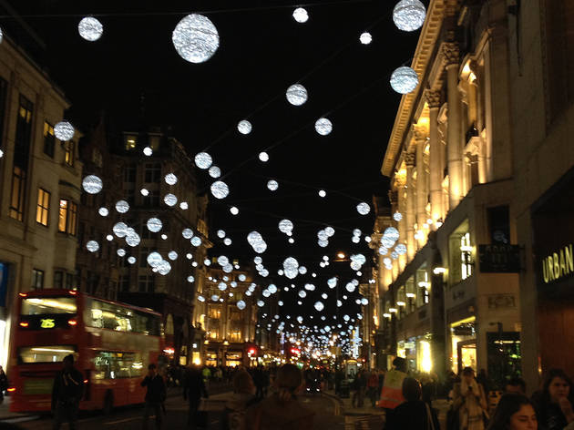 Free Falling Snow Wallpaper Oxford Street Christmas Lights Things To Do In London
