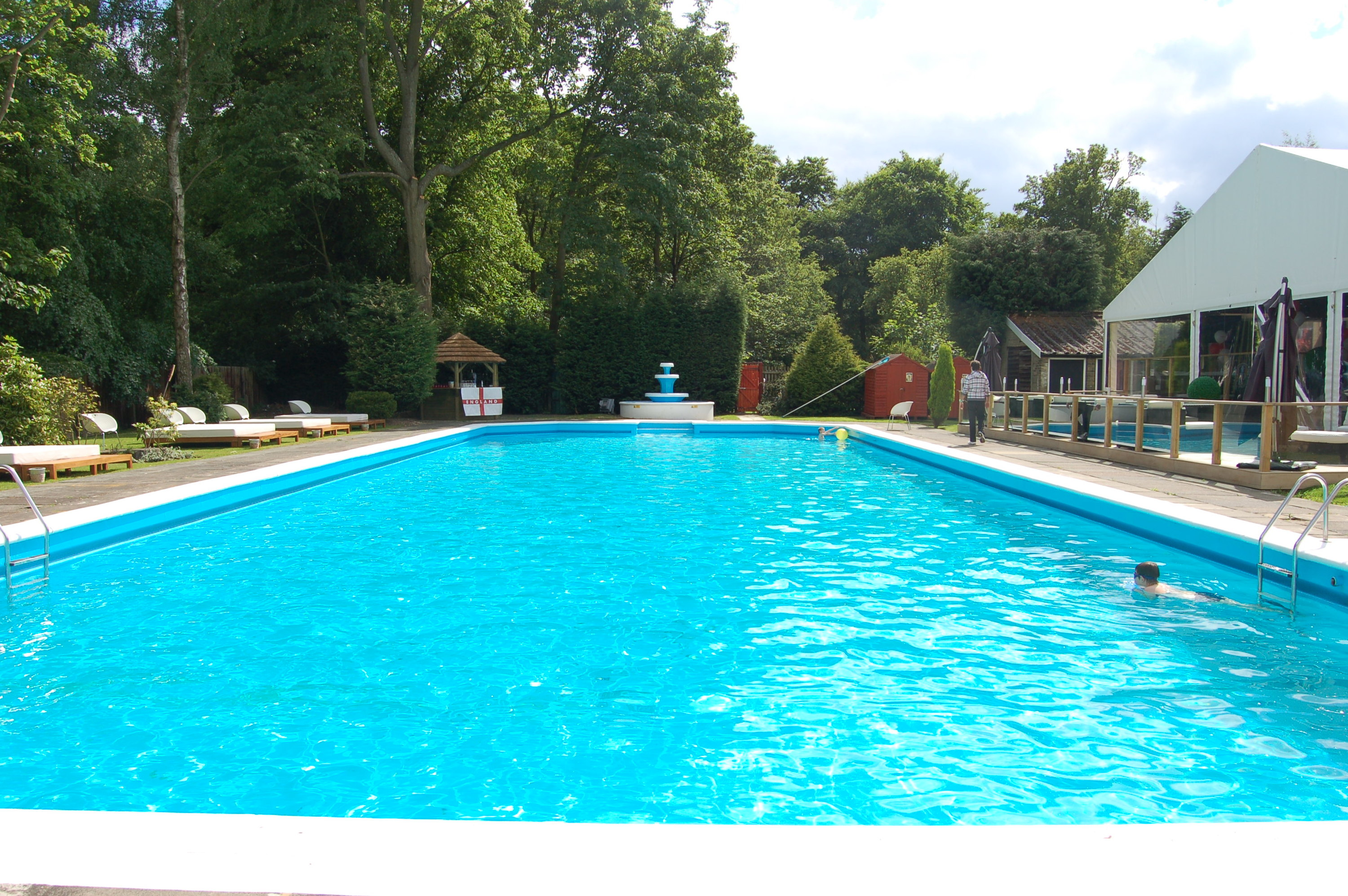 Outdoor Swimming Pool Berlin Swimming Pool Erdeinbau Ovalbecken 7 30m X 3 60m X 1 32 M