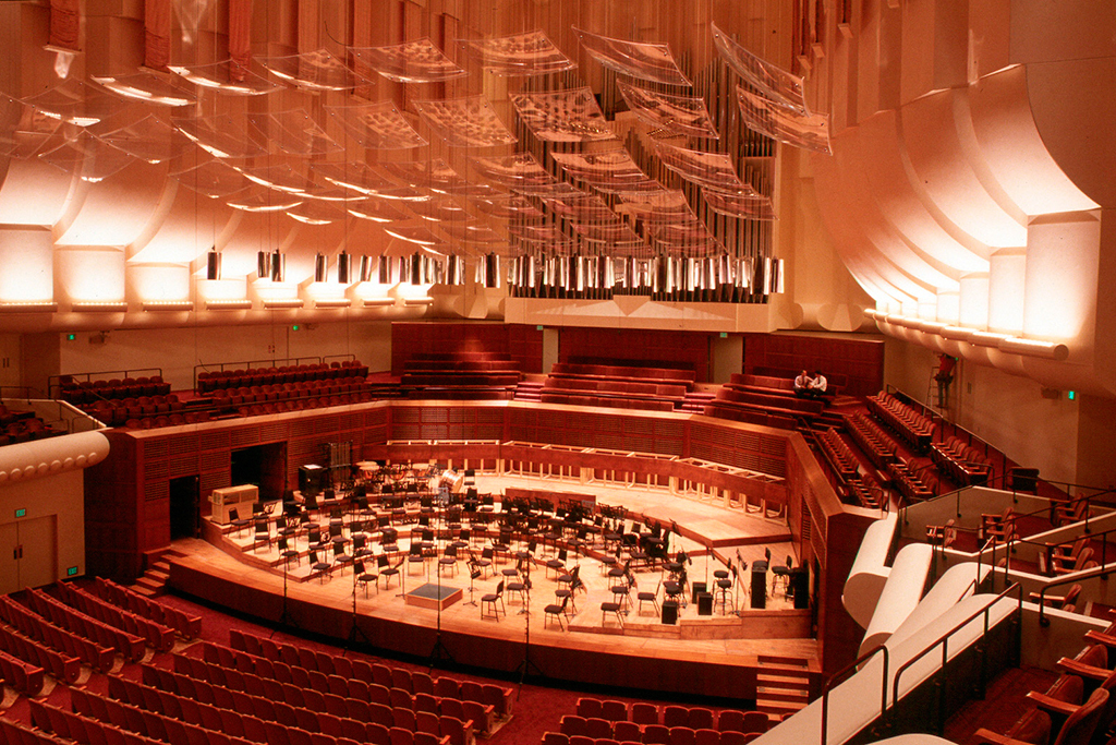 Louise M Davies Symphony Hall in Civic Center, San Francisco