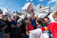 Pillow Fight NYC guide including how to participate