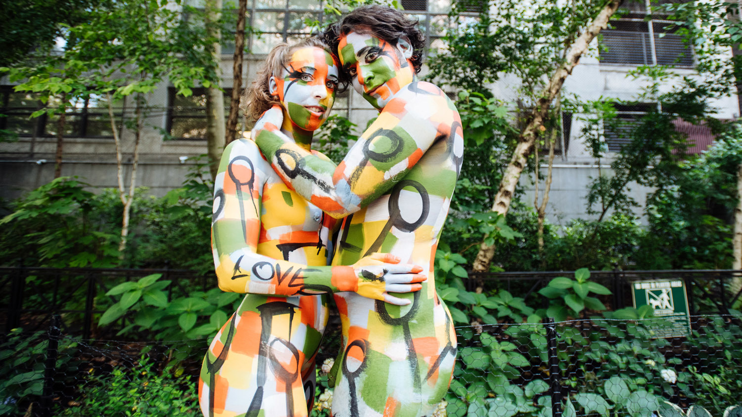 Tivoli Ny Street Painting Festival See Stunning Photos From Nyc Bodypainting Day