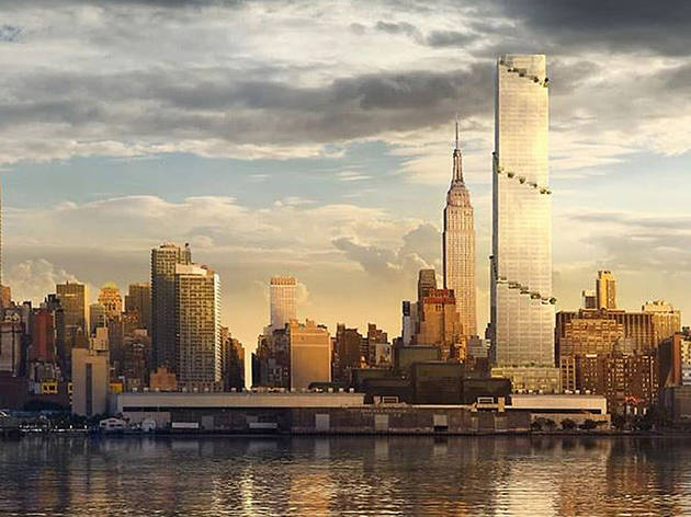 10 Buildings That Will Change The New York City Skyline By 2021 - Vorhang New York Skyline