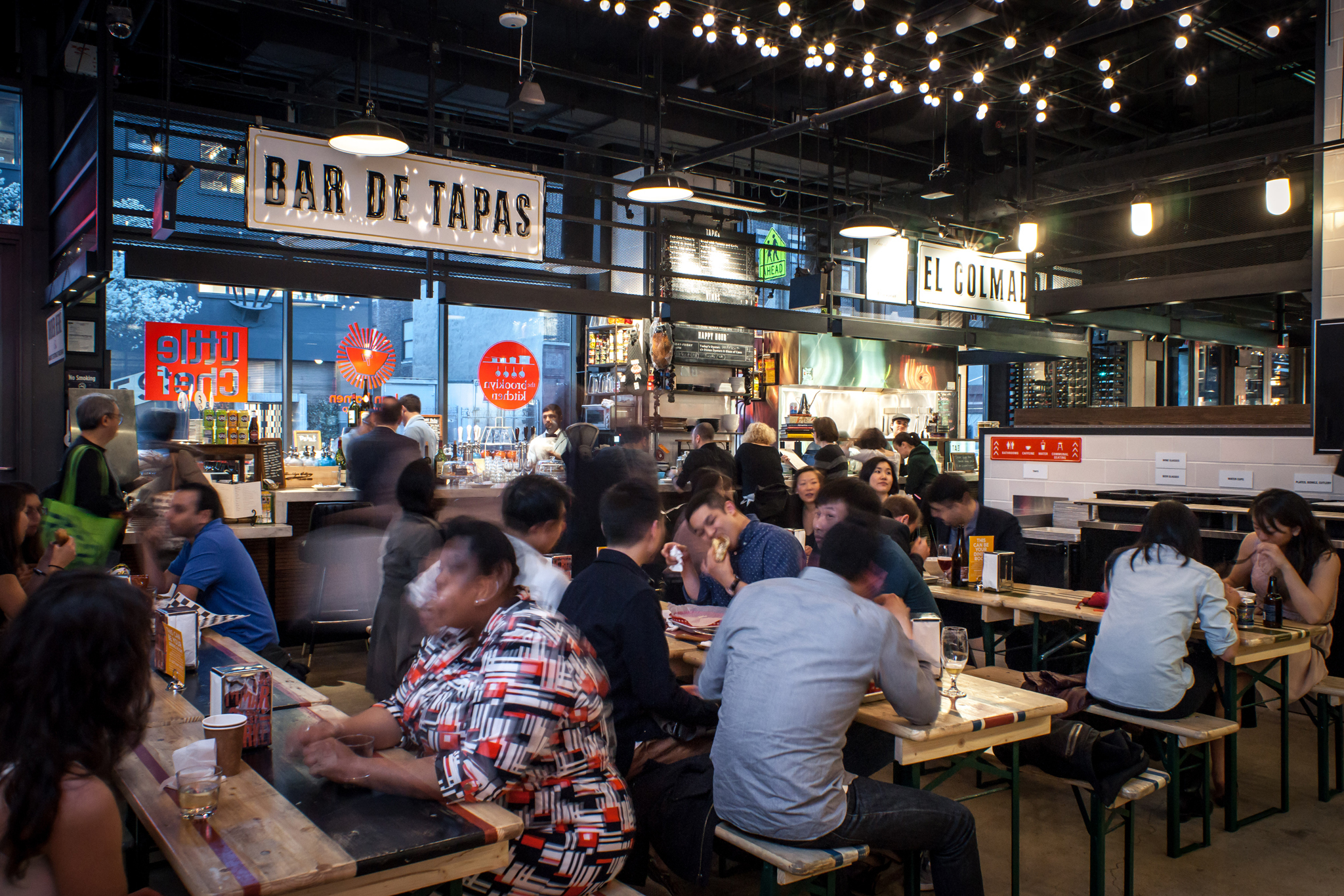 Restaurant Keuken & Deli Best Food Halls In Nyc And What You Should Eat From Tacos
