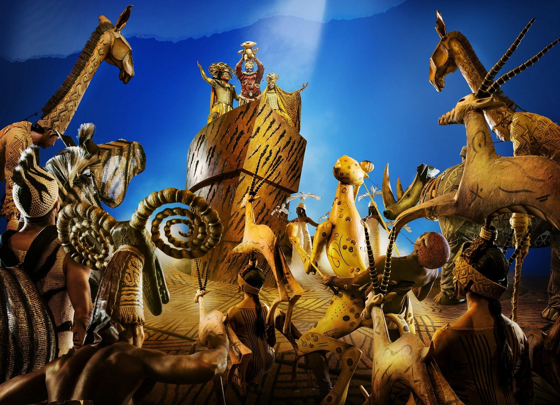 the lion king musical london cast 2019