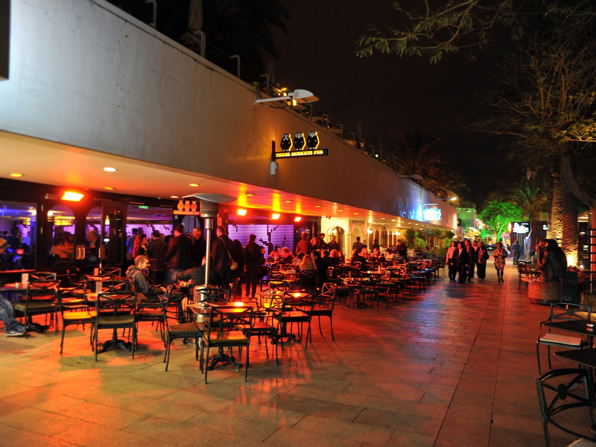 La Cucina Eilat Three Monkeys Bars In Eilat Eilat
