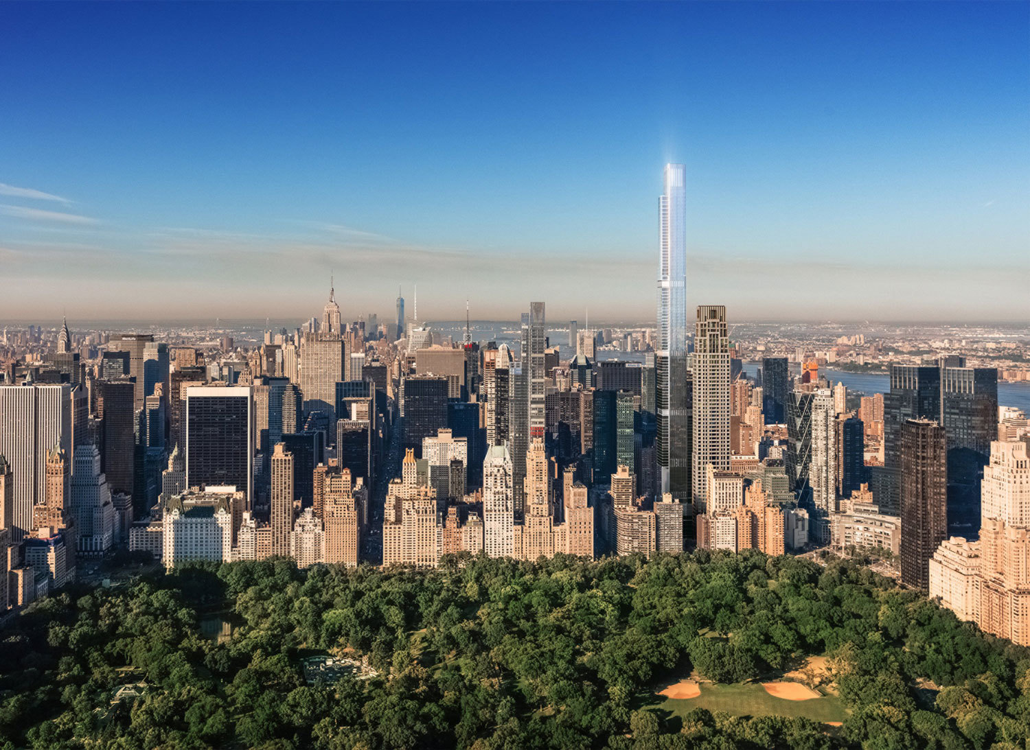 Tallest Residential Building Nyc A New Nyc Tower Will Be The Tallest Residential Building