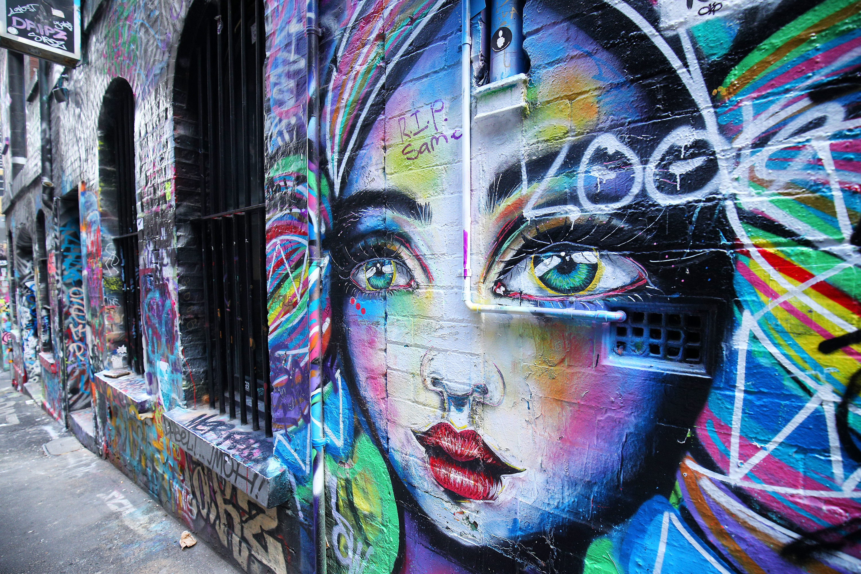 Background Hd Wallpaper Girl Where To Find The Best Street Art In Melbourne