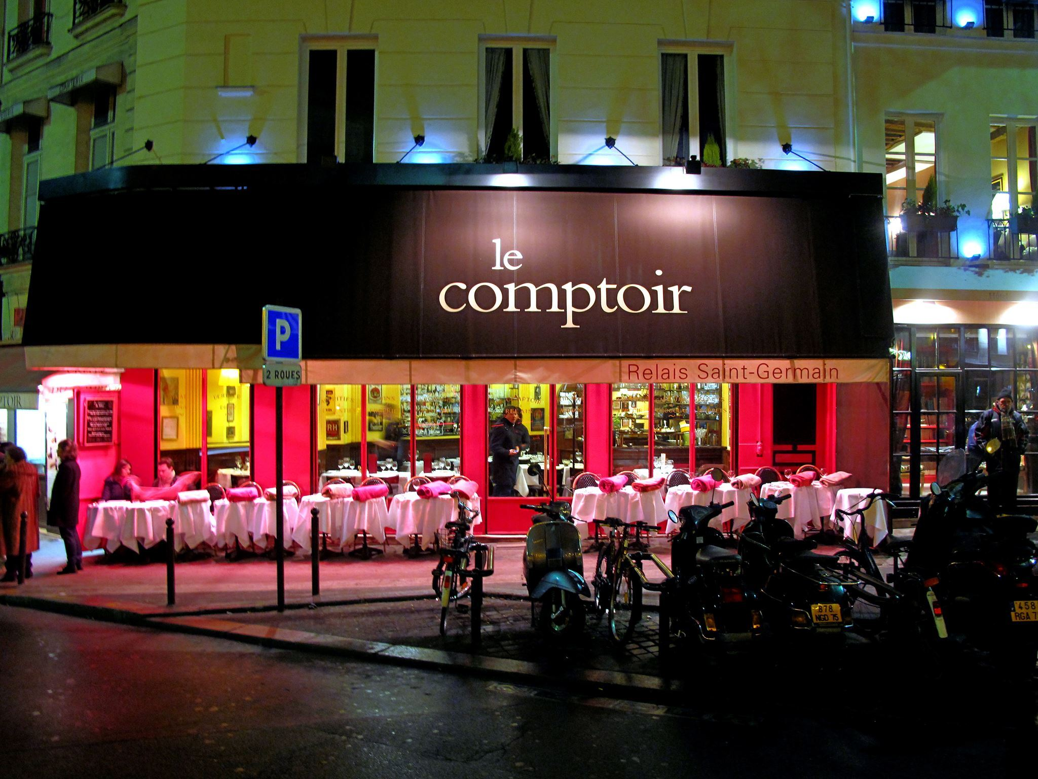 Comptoir De L Or Paris Le Comptoir Du Relais Restaurants à Odéon Paris