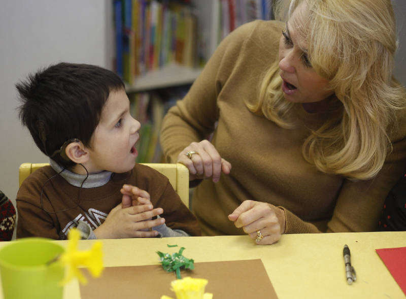Program helps hearing-impaired children reach their potential