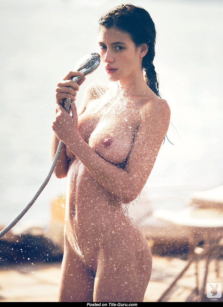 Alejandra Guilmant Topless Alejandra Guilmant Wet Latina Playboy Brunette Babe With Exposed