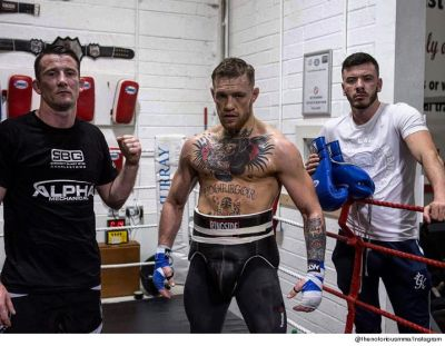 Conor McGregor Ditches MMA Training To Focus On Boxing Floyd Mayweather   TMZ.com