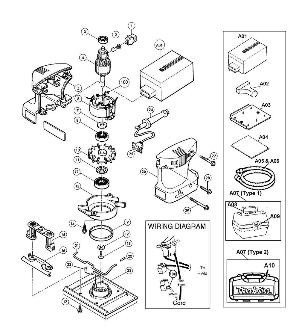 makita jr3000v wiring diagram