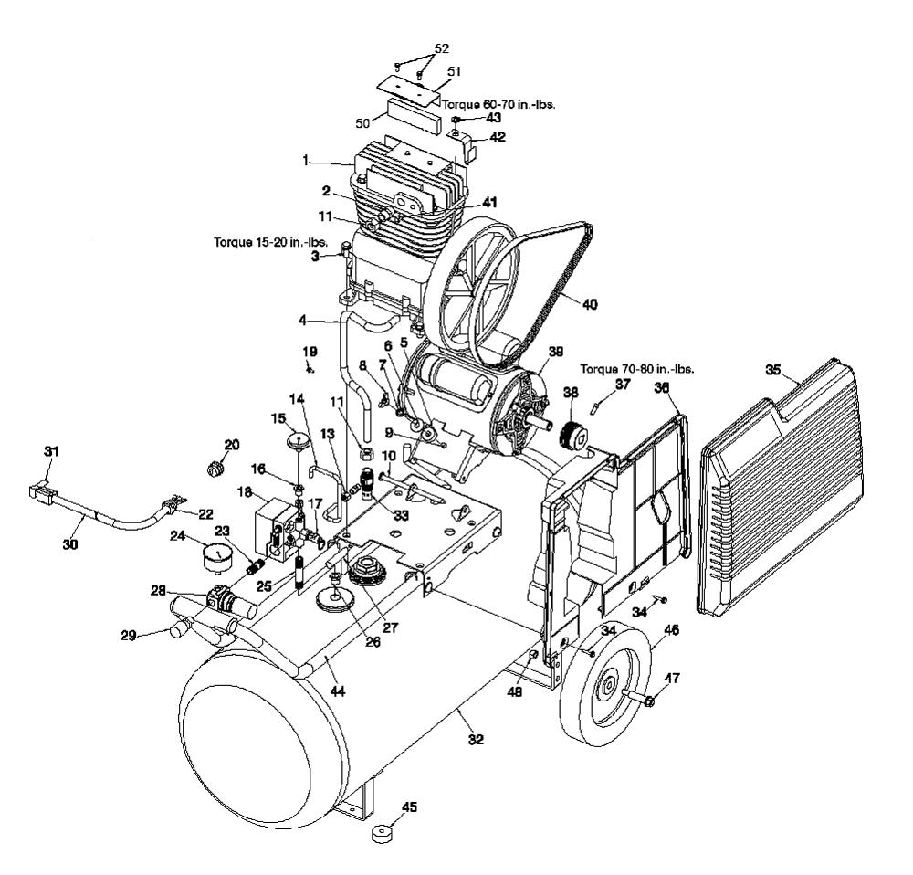 air compressor schematic compressor pro
