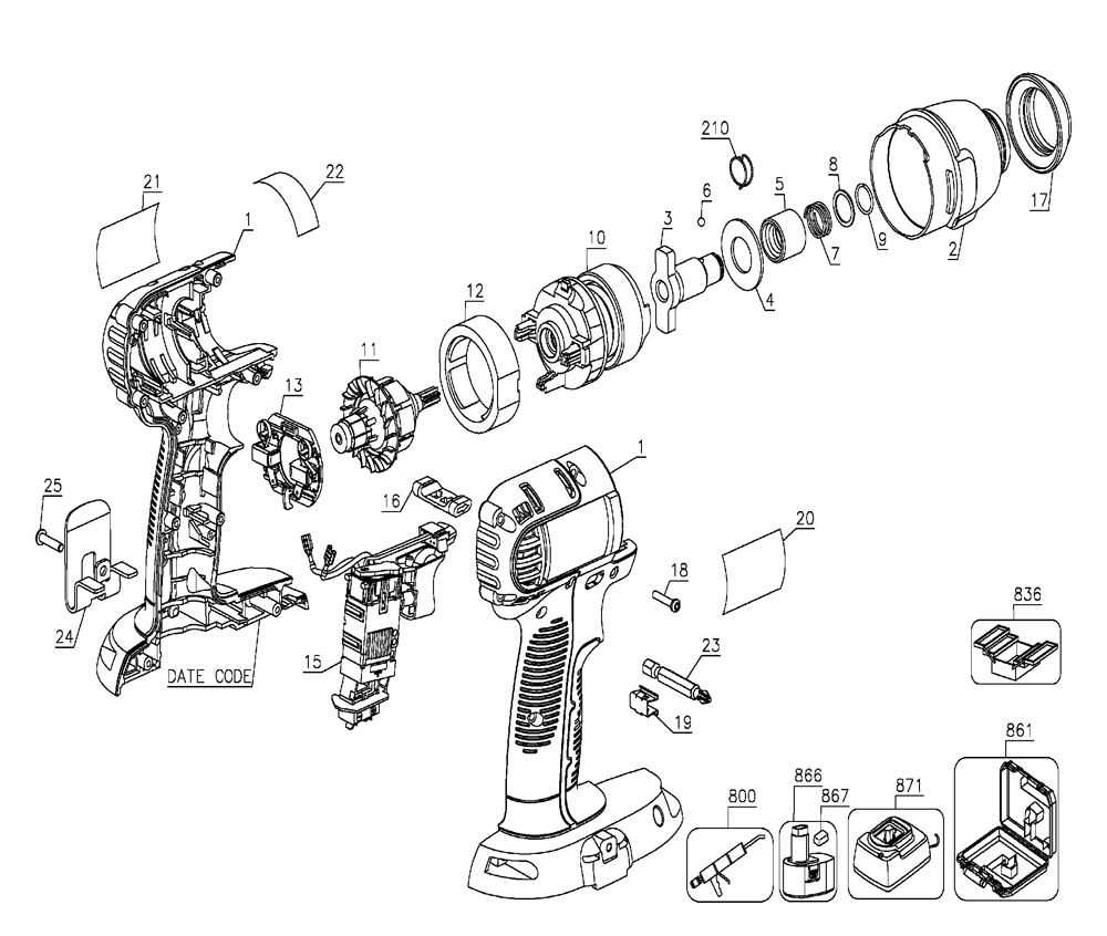 buy de walt electric impact wrench