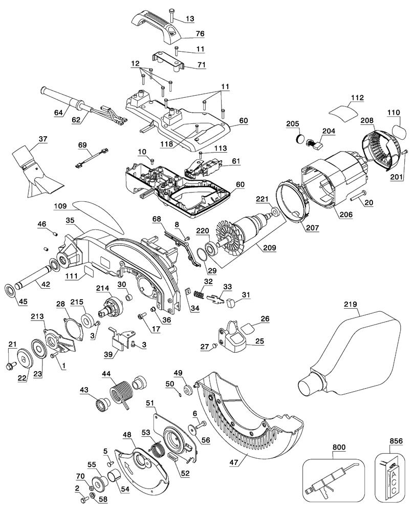 dewalt generator wiring diagram