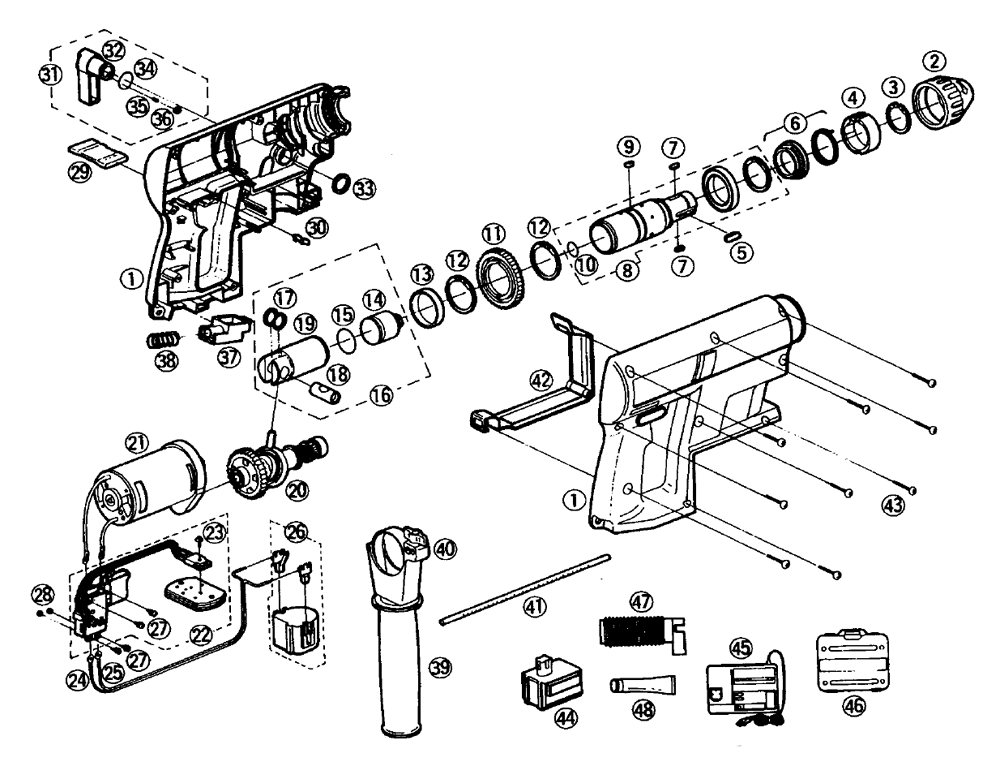 cordless drill diagram cordless drill diagram