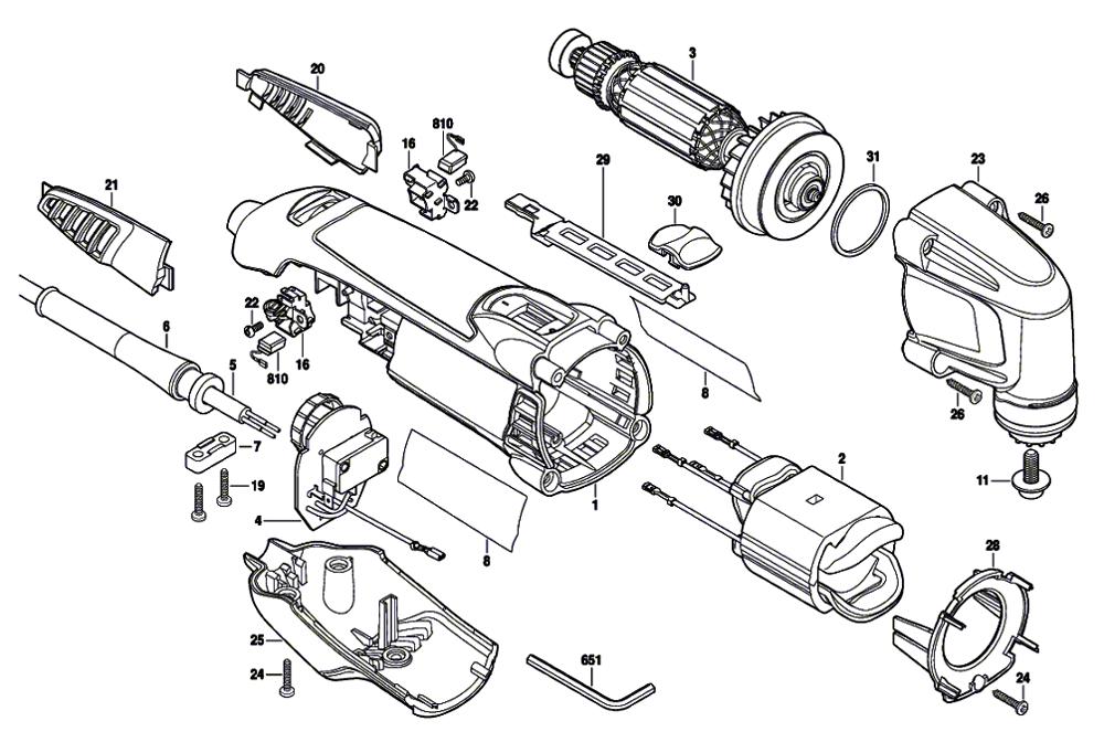 dremel mm20 wiring diagram