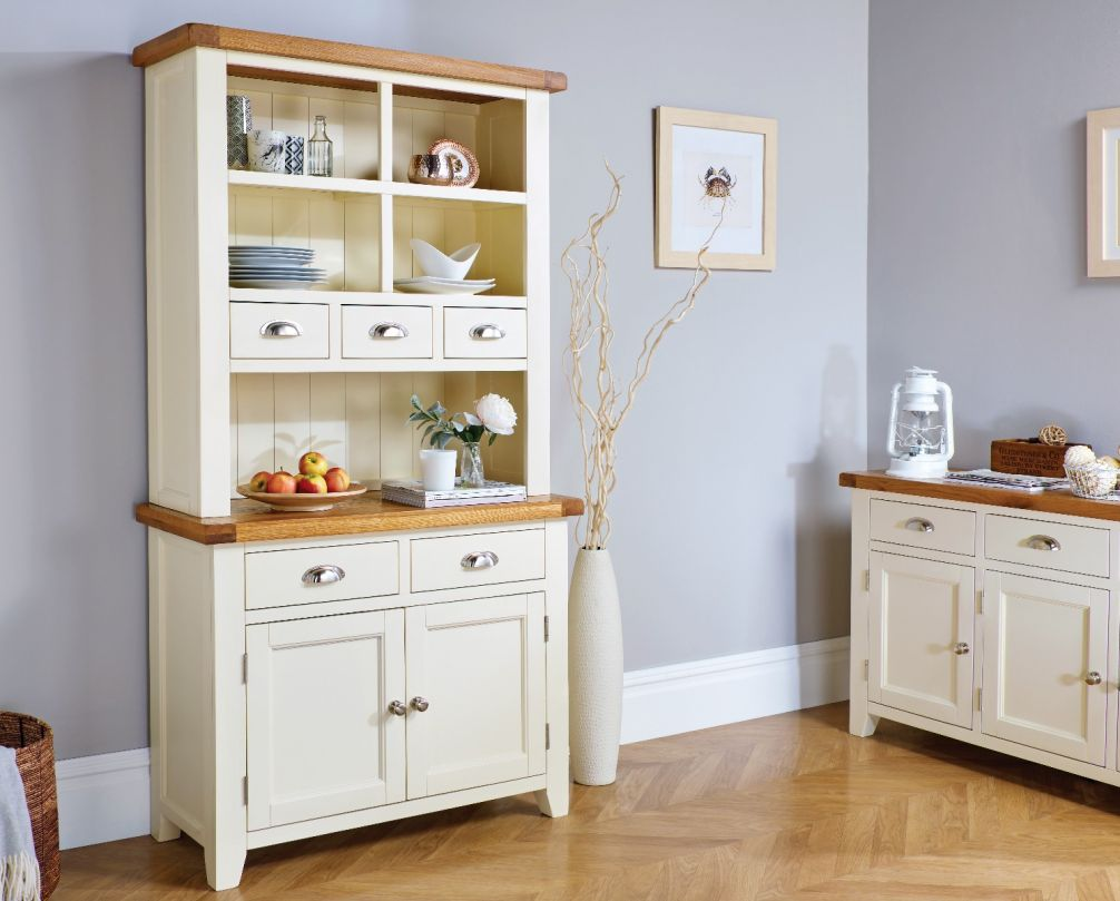 Buffet Sideboard Fantastic Furniture Country Cottage Cream Painted 100cm Buffet And Hutch Dresser Display Unit Summer Sale