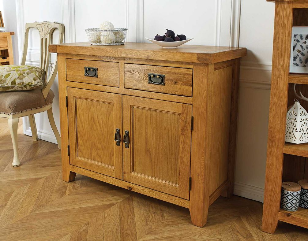 Sideboard Bilder Country Oak 100cm Small Oak Sideboard Winter Sale