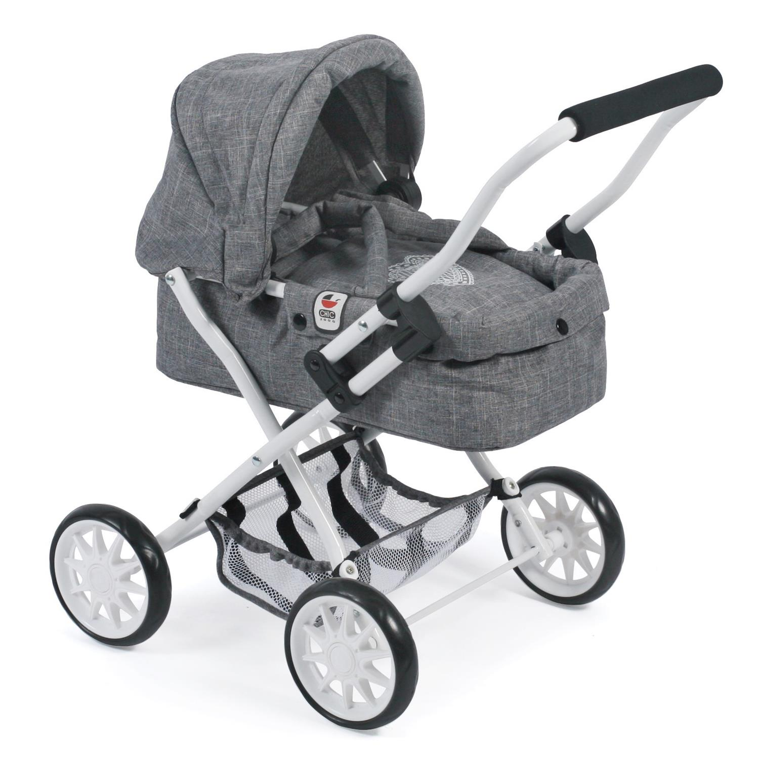 "Baby Born Küche Ebay Bayer Chic 2000 555 76 Mini-puppenwagen ""smarty"", Jeans Grey"