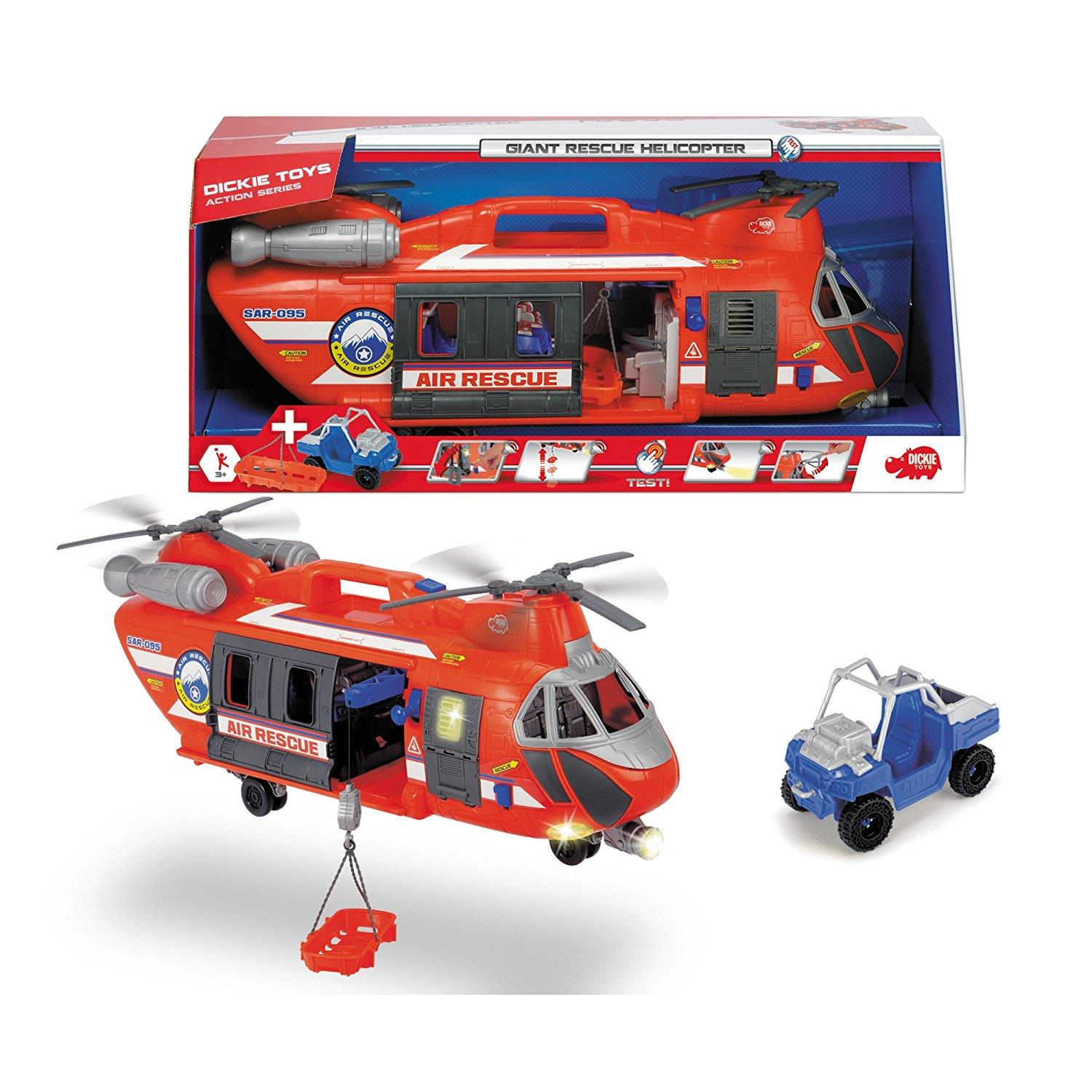 Playmobil Küche Toys R Us Dickie 203309000 Giant Rescue Helikopter
