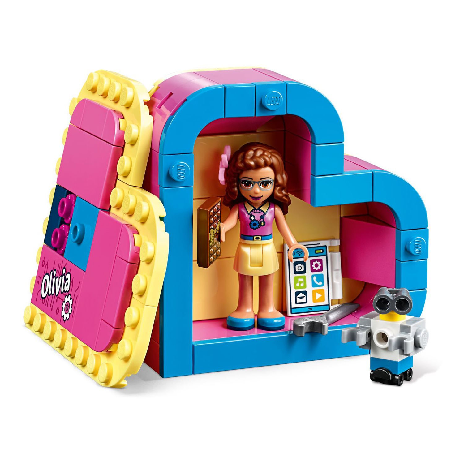 Lego Friends Olivia's Zwembad 41090 Lego 41357 Friends Olivias Herzbox