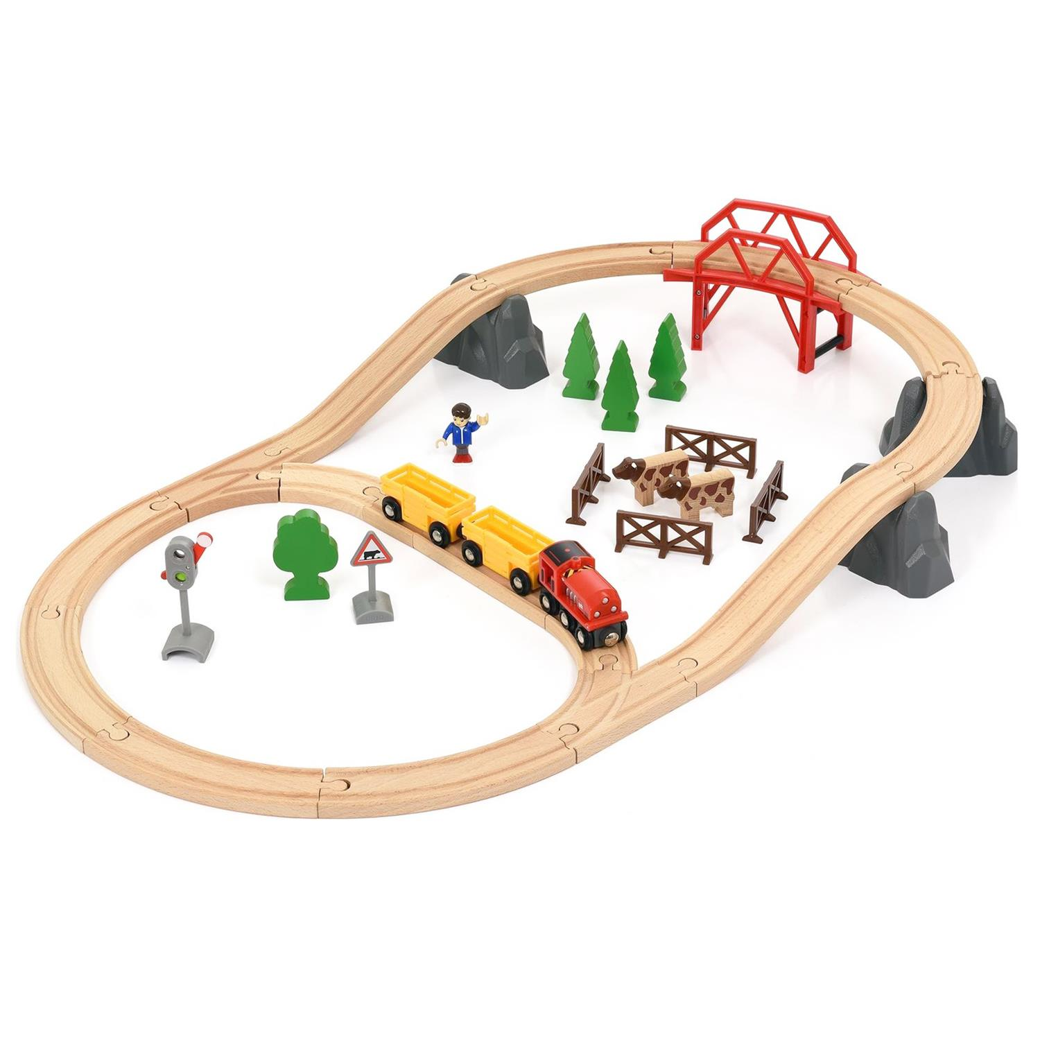 Brio Küche Brio 33909 Countryside Hill Set