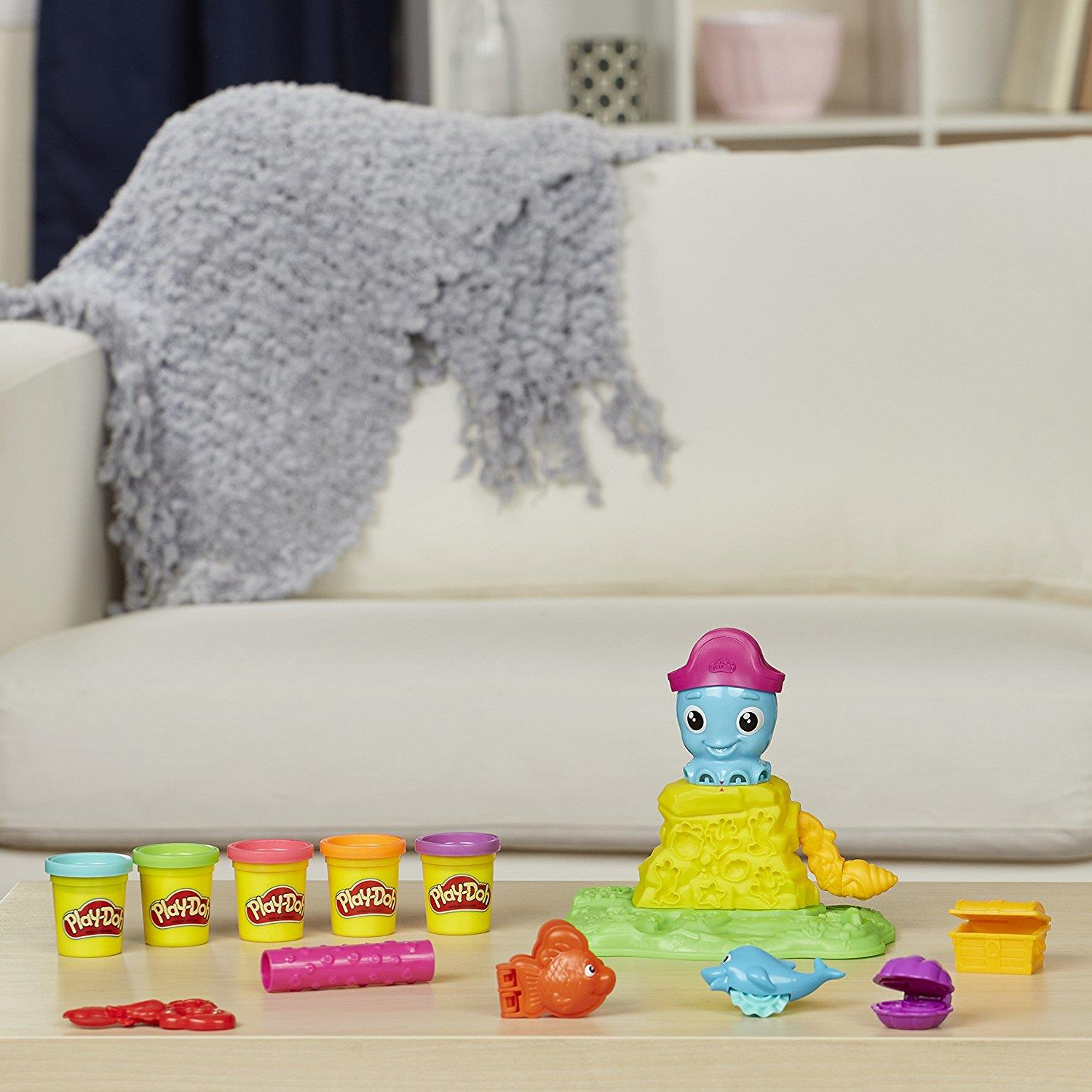 Play Doh Knet Küche Hasbro E0800eu4 Play Doh Cranky The Octopus