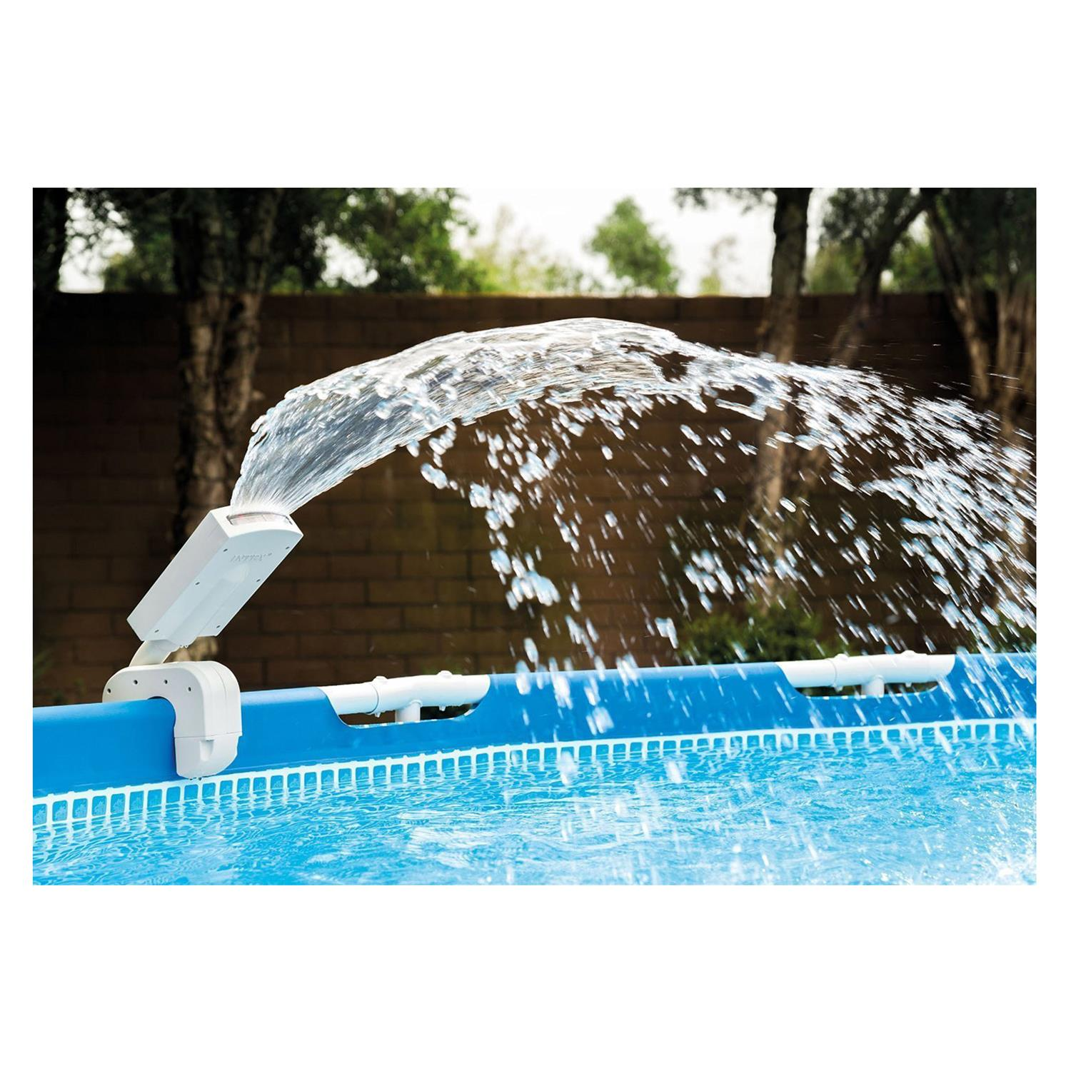 Pool Abdeckplane Spannen Intex 28089 Multi Color Led Pool Sprayer