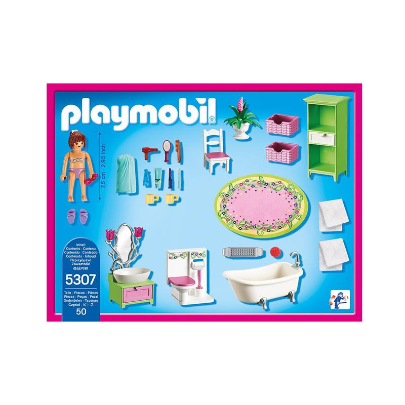 Puppen Badewanne Playmobil 5307 Romantik-bad