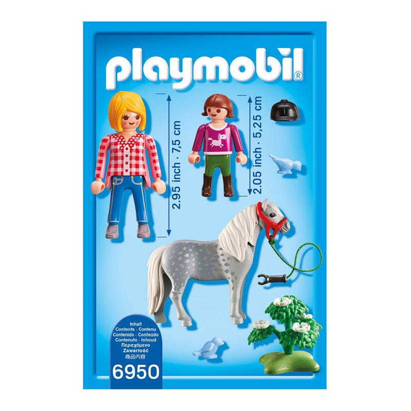 Küche Roller Bewertung Playmobil 6950 Country - Spaziergang Mit Pony