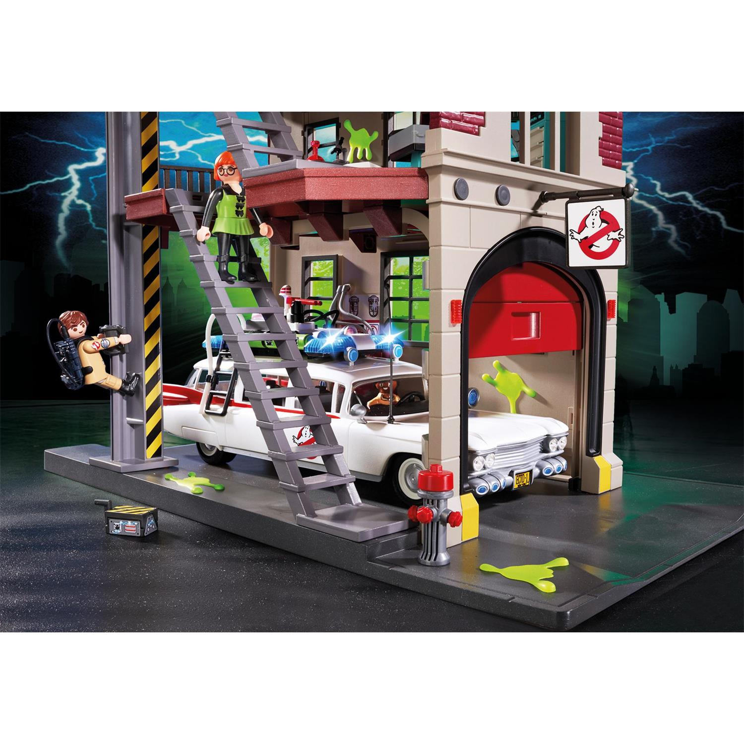 Playmobil Küche Toys R Us Playmobil 9219 Ghostbusters Feuerwache