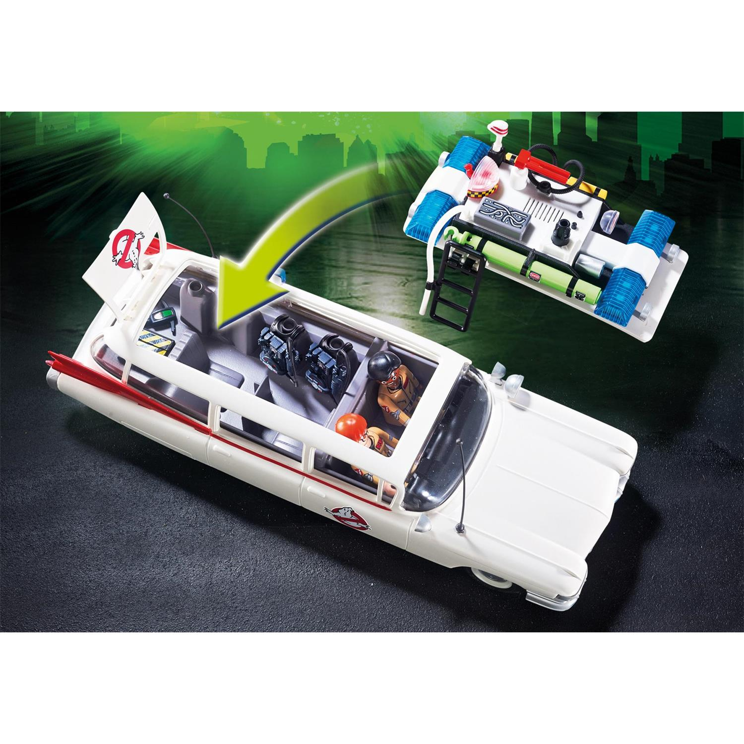 Lego Küche 70er Playmobil 9220 Ghostbusters Ecto 1