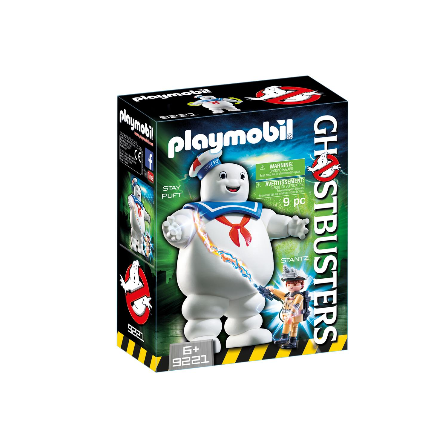 Lego Küche 70er Playmobil 9221 Ghostbusters Marshmallow Man