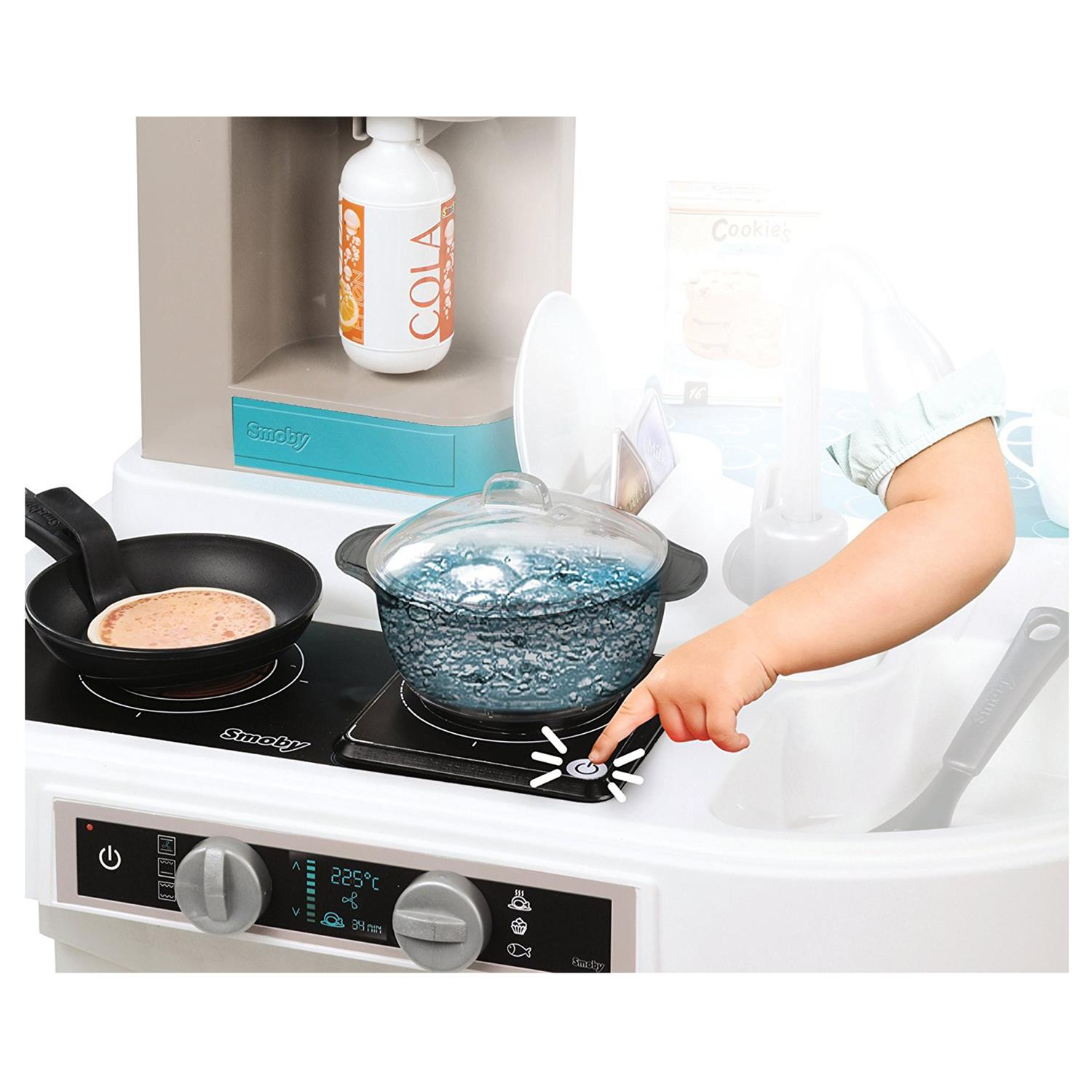 Tefal Studio Bubble Küche Smoby 311023 Tefal Studio Bubble Küche